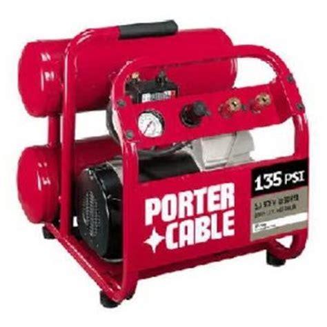porter cable cpf23400s 3 hp 4 gallon side stack compressor home improvement