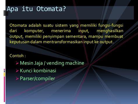 Teori Bahasa Otomata teori bahasa formal dan otomata