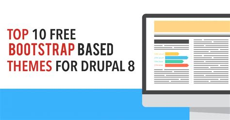 bootstrap themes free drupal top 10 free bootstrap based themes for drupal 8 vardot