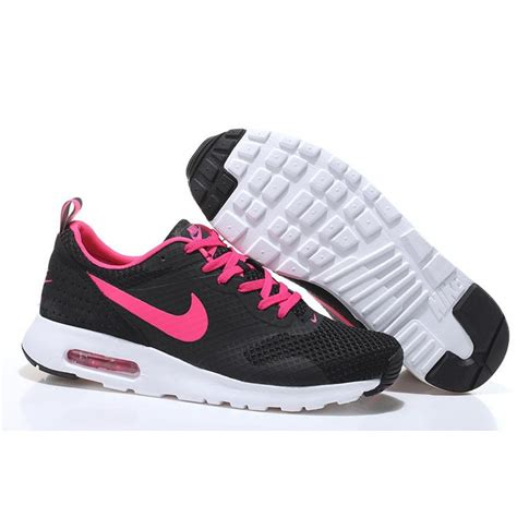 nike air max tavas womens running shoes black pink buy