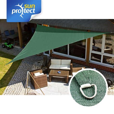 Sonnensegel Mit Pfosten 99 by Sunprotect Sonnensegel Professional 5 X 5 X 7 M Dreieck