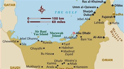 uae map with distance what is the distance between abu dhabi and dubai