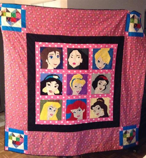 Princess Quilt Patterns by You To See Disney Princess Quilt By Boconnor294