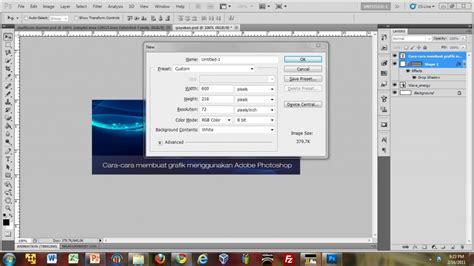 membuat x banner dengan photoshop tutorial membuat banner menggunakan adobe photoshop cs5