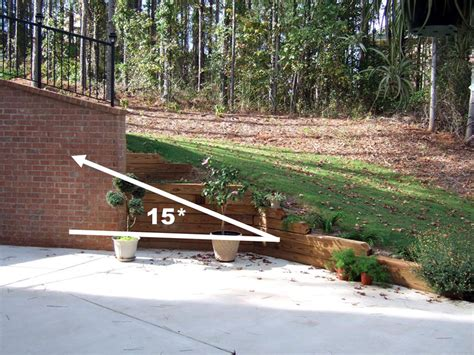 Steep Hill Backyard Ideas Is This Too Much Grade For A K46 Transmission