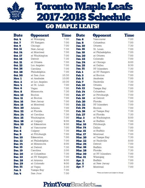 printable new york islanders schedule 86 best printable nhl schedules images on pinterest