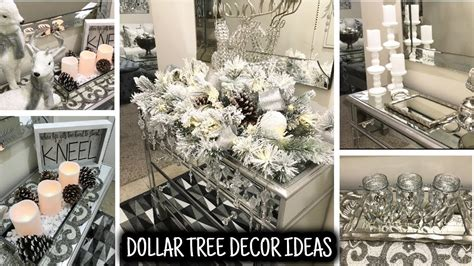 dollar tree decor ideas mirror entryway table home