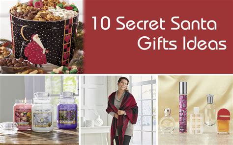 secret gift exchange ideas 10 secret santa gifts ideas
