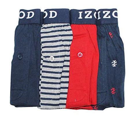 izod knit boxers izod mens cotton knit boxers 4 pack m 32 34 addros