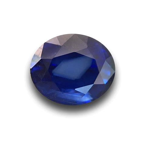 Blue Safir 1 1 1 54 carats blue sapphire gemstone new