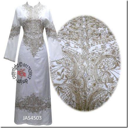 Variasi Cantik Sulam Sisir firzara collection jubah sulam cantik fesyen terkini