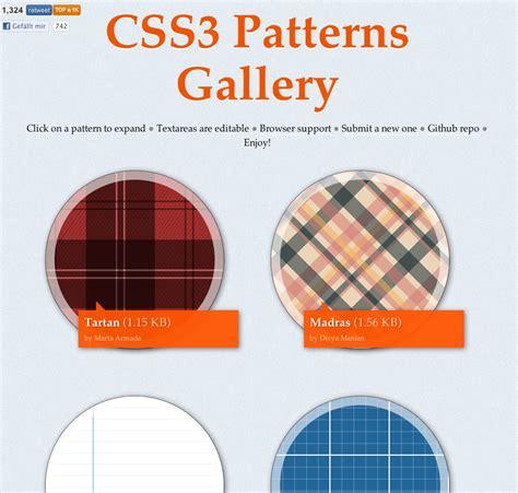 pattern design css css3 in practice maddesigns sven wolfermann css3