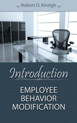 Behavior Modification Books by Book Review Introduction Employee Behavior Modification