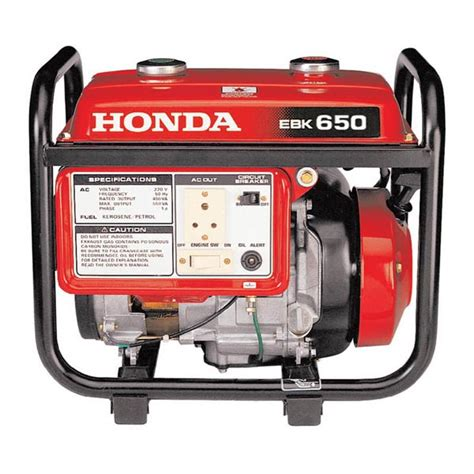 products honda kerosene generator ebk 650 manufacturer