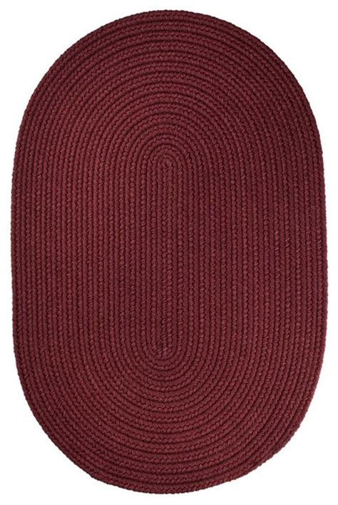 small braided rugs 2 x3 oval small 2x3 rug burgundy solid carpet braided farmhouse area rugs by