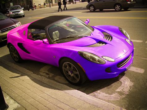 rainbow cars purple 390 photography