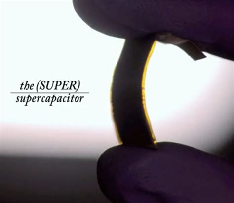 graphite capacitor the graphene supercapacitor revolution