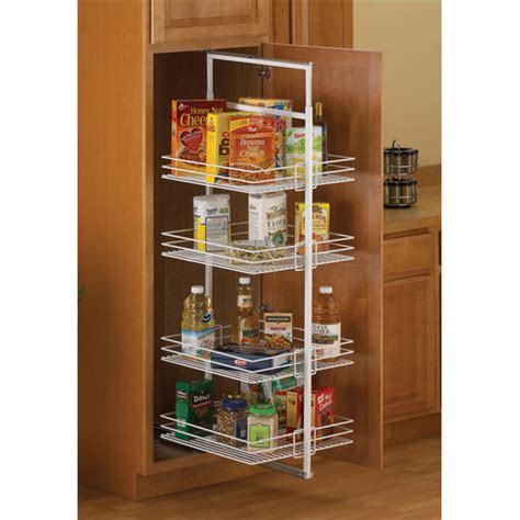 Kitchen Pantry Accessories by Pantry Organizers White Center Mount Roll Out Pantries W