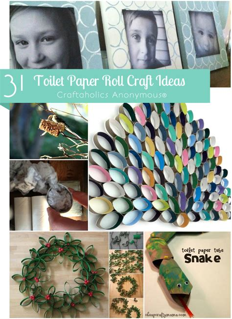 Craft Ideas For Toilet Paper Rolls - craftaholics anonymous 174 toilet paper roll crafts