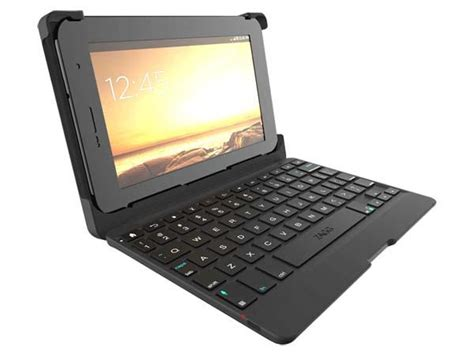 android tablet keyboard zagg auto fit 7 android tablet keyboard gadgetsin