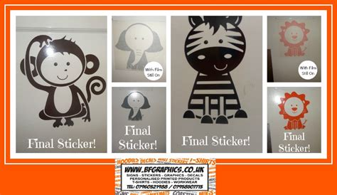 wall stickers reviews review of adorable jungle critters animal wall stickers