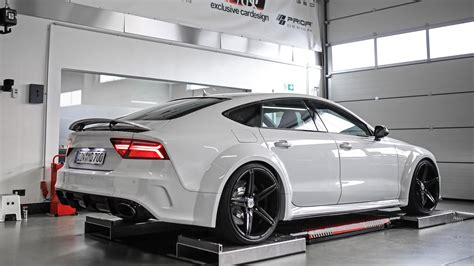 Audi S7 Wei by Forget The Rs7 All You Need Is This Widebody Audi S7