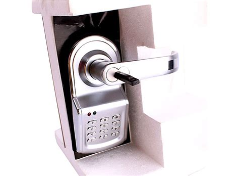 Security Door Locks by High Security Electronic Keyless Door Lock Set Left
