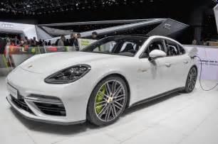 Porsche Panemera Porsche Panamera Turbo S E Hybrid Revealed With 680 Horsepower