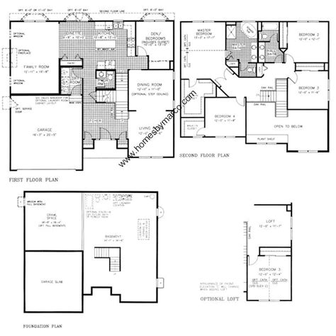 homes by marco floor plans riverton model in the