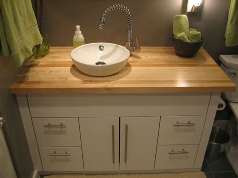 butcher block bathroom countertop vanities birdsquare carpentry