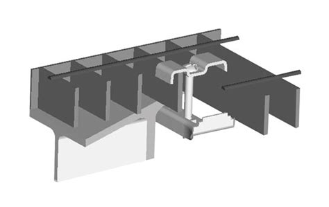 Is 2d Blind Grating Clip Beamclamp