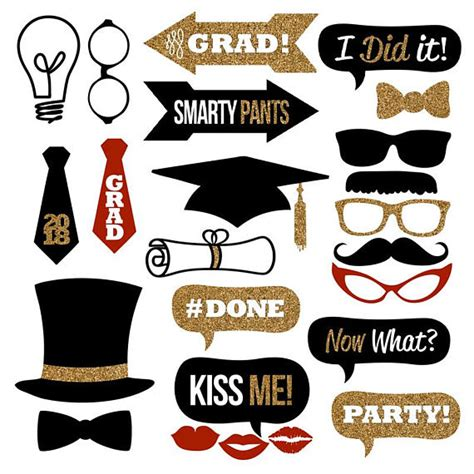 graduation photo booth props printable pdf 2018 graduation photo booth props collection printable