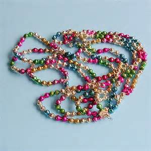 antique vintage glass bead garland vintage by timepassages