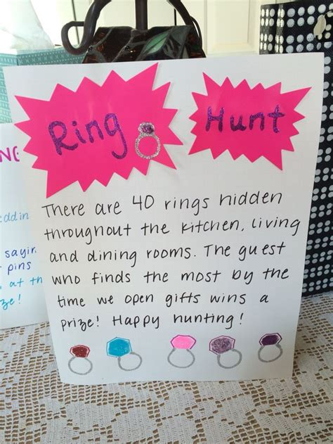 bridal shower gifts ideas target hide plastic rings you can find them at dollar tree
