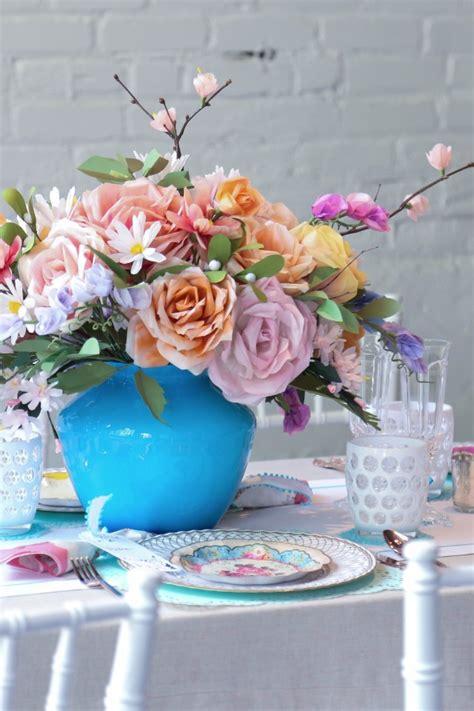 Wedding Flower Paper Centerpiece by Pretty Paper Wedding Ideas
