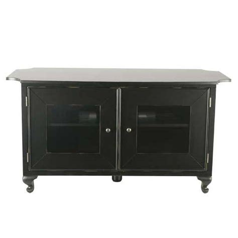 Distressed Black Tv Stand by Sanus Basic Foundations 50 Flat Panel Tv Stand In