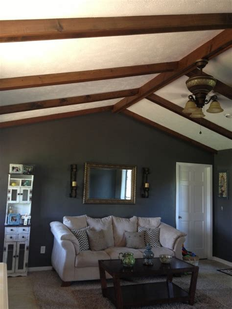 paint colors for living room with wood ceiling wooden ceiling beams