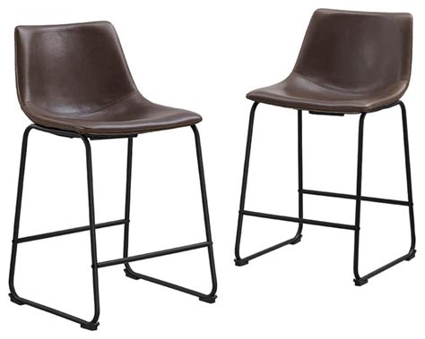 vintage steel industrial modern counter stool kathy kuo home counter stools leather kilgore industrial loft vintage