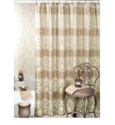 luxurious shower curtain luxury shower curtains with valance teawing co