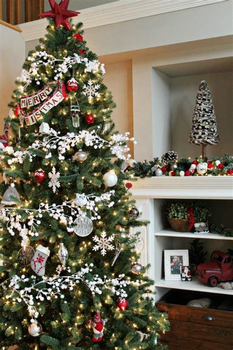home decorated christmas trees christmas home tour clean and scentsible