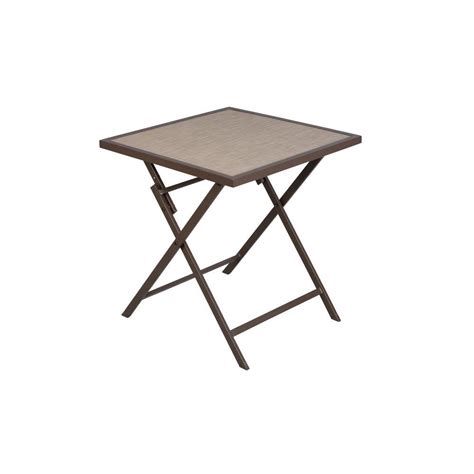 Home Depot Bistro Table by Hton Bay Fairplay Folding Patio Bistro Table Ftm01235t
