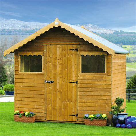 rustic wooden shed base included departments diy