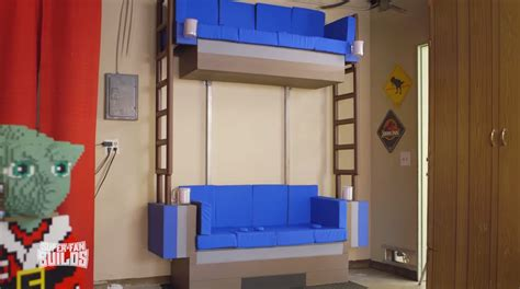 real double decker couch real life lego double decker couch for super fans the