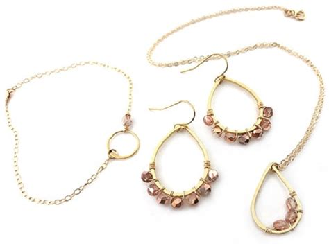 Handcrafted Gold Jewelry - handcrafted gold jewelry set sweepstakes freebies