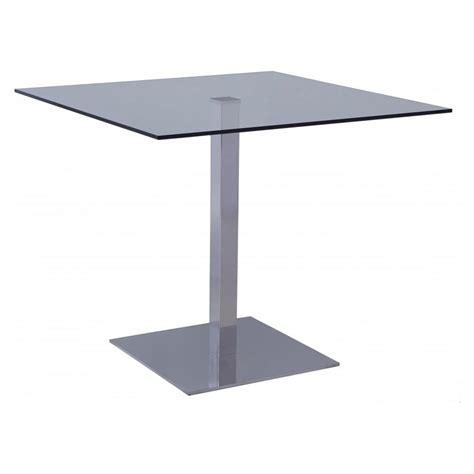 Square Glass Dining Tables Buy Gillmore Space Square Glass Bistro Dining Table From Fusion Living