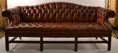 leather camelback sofa leather camel back sofa at 1stdibs