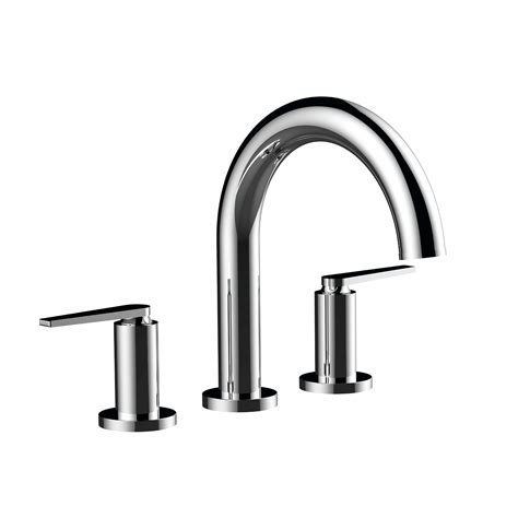 Santec Faucets Reviews by Santec 4550hn Tm Tub Filler Set With Quot Hn Quot Handles