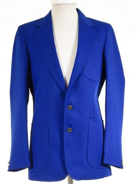 Hw Electric Blue electric blue blazer boys mens 36 new sale tweedmans vintage