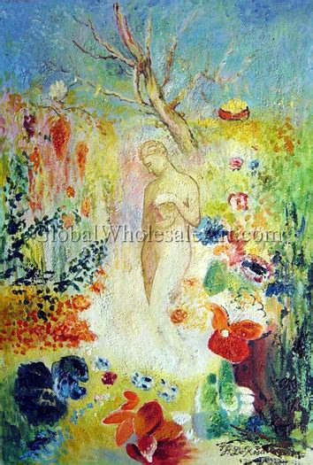 oil paintings global wholesale art odilon redon pandora oil paintings on canvas