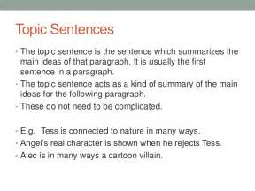 Exles Of Topic Sentences For An Essay by Essay Writing Mini Essays Ticky Squeak